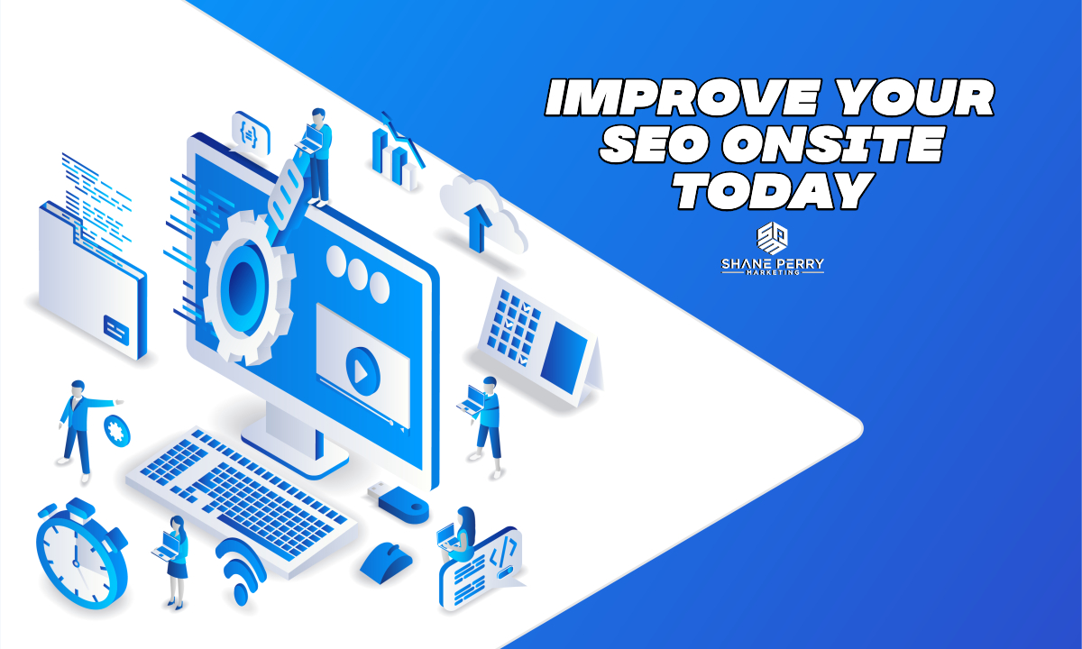 Improve your SEO Onsite Today Banner Image
